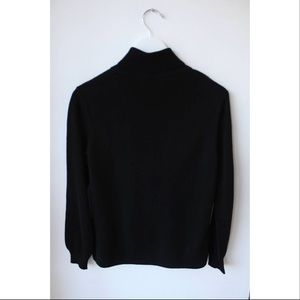 Casual Corner Cashmere Turtle Neck Sweater